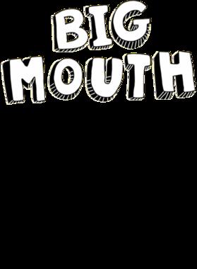 Big Mouth Logo Netflix Original Fan T Shirt