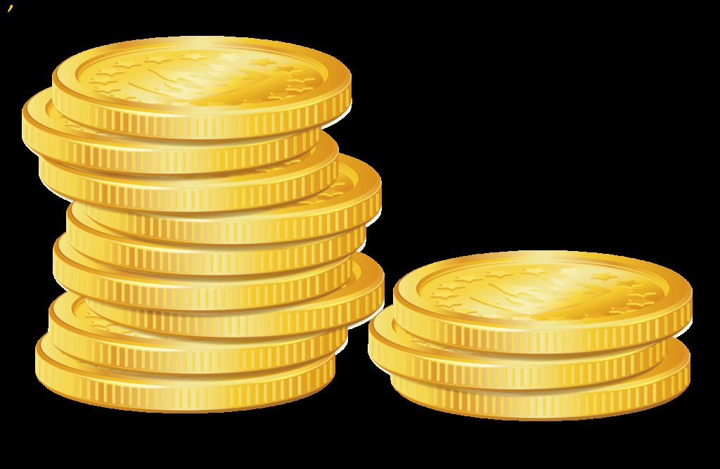 Money coins clipart  Clipground