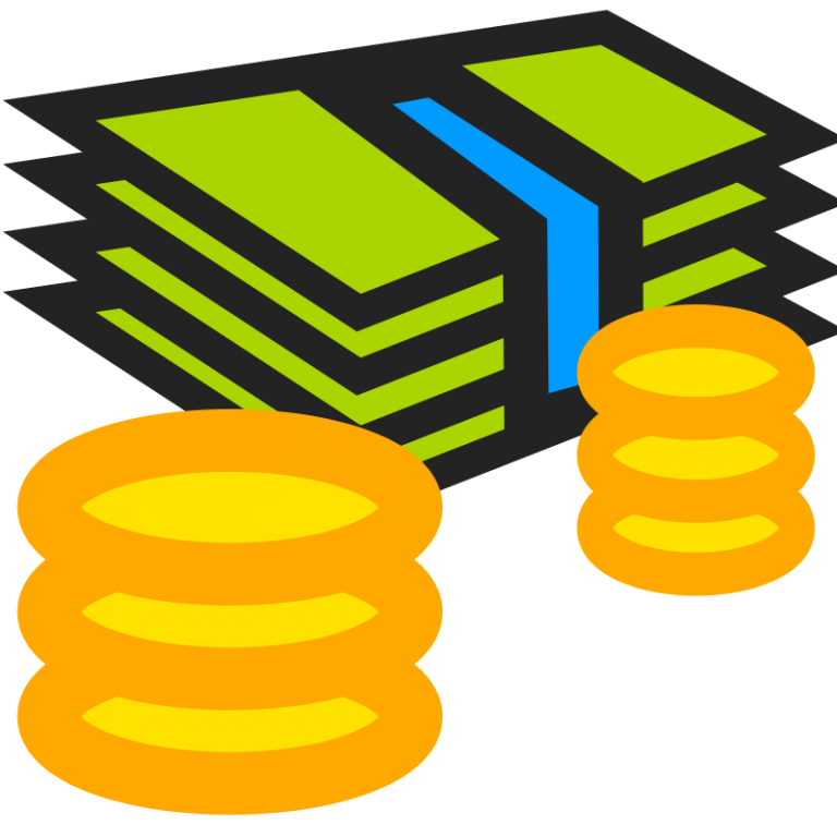 Library of real stack of money free library png files