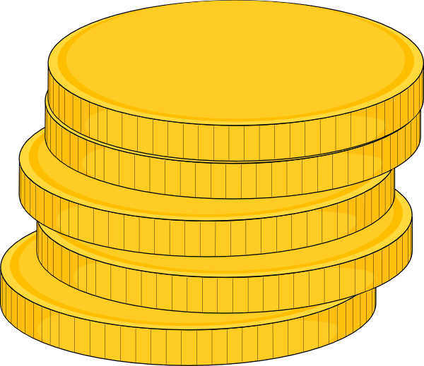 How To Draw A Stack Of Money  ClipArt Best