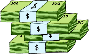 Stack Of Money Clipart  Free download on ClipArtMag