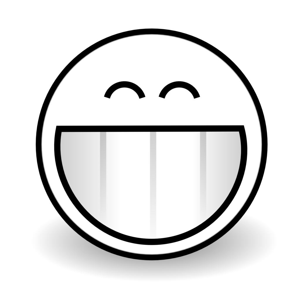 PNG Happy Face Black And White Transparent Happy Face