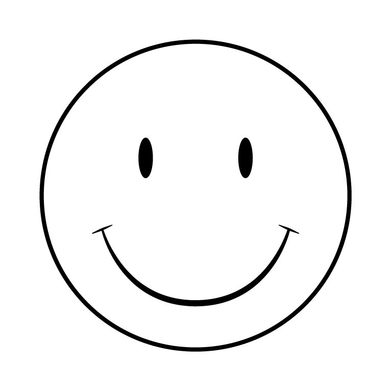 Smiley Face Black And White  ClipArt Best