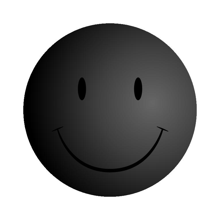 Black Smiley Face  ClipArt Best