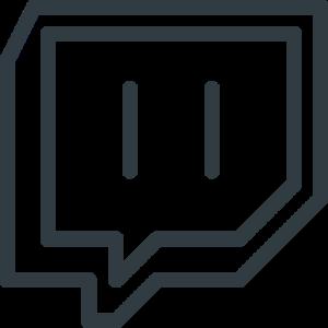 Bremmatic: Twitch Logo Transparent Png - Black and White Twitch Logo Transparent