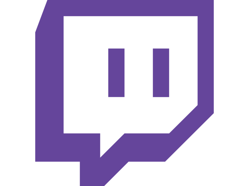 Twitch purple Logo PNG Transparent  SVG Vector  Freebie