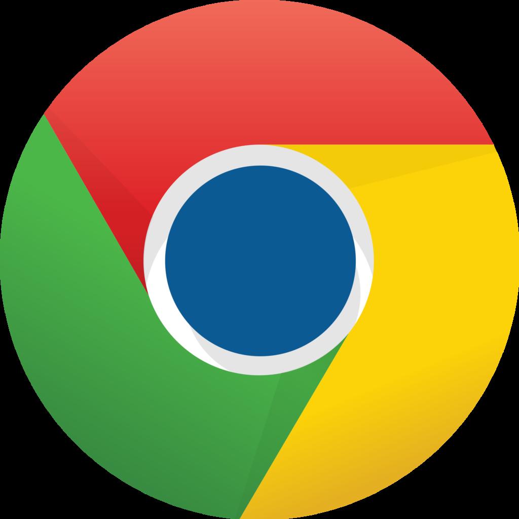 Blue Google Chrome Icon PNG Transparent Background Free