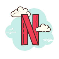 Netflix Icons - Free Download, PNG and SVG - Blue Netflix Logo