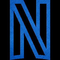 Cardboard blue netflix icon  Free cardboard blue site
