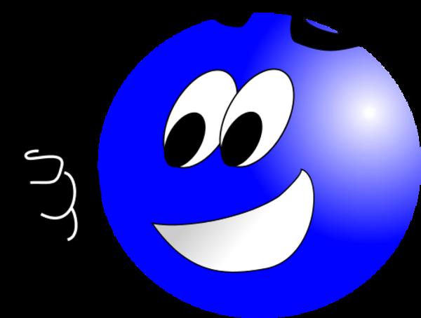 Blue Smiley Face Clip Art  ClipArt Best