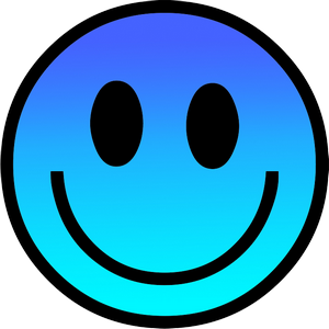 Smiley Face Blue PNG  ClipArt Best