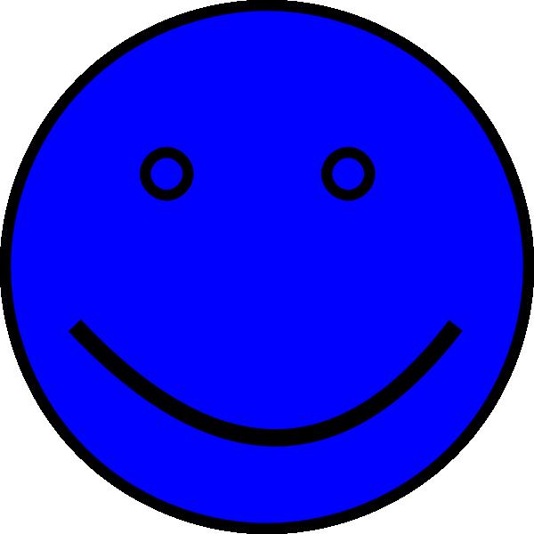 Blue Face Clip Art at Clkercom  vector clip art online