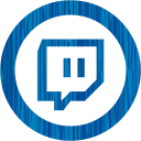 Sketchy blue twitch tv 2 icon  Free sketchy blue site