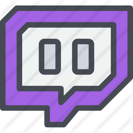 Twitch Social Media Icon at Vectorifiedcom  Collection