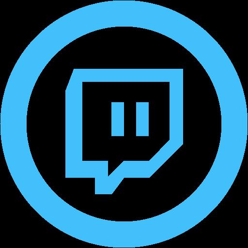 Caribbean blue twitch tv 2 icon - Free caribbean blue site ... - Blue Twitch Logo
