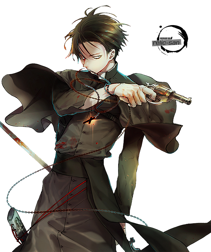 Levi Rivaille RENDER  00 by relicsan  anime character