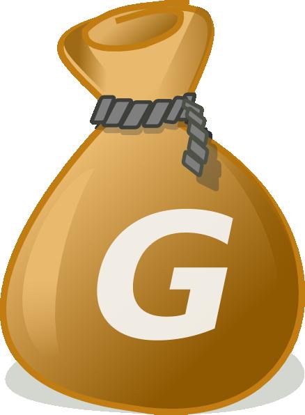 Money Bag2 Clip Art at Clker.com - vector clip art online ... - Cartoon Money Bag Drawing