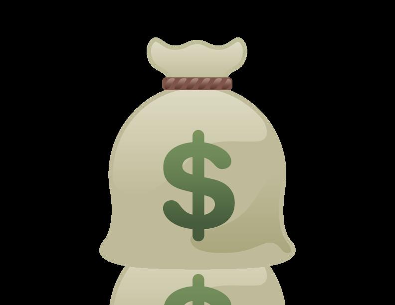 Cartoon Bag Of Money - Cliparts.co - Cartoon Money Bag Drawing
