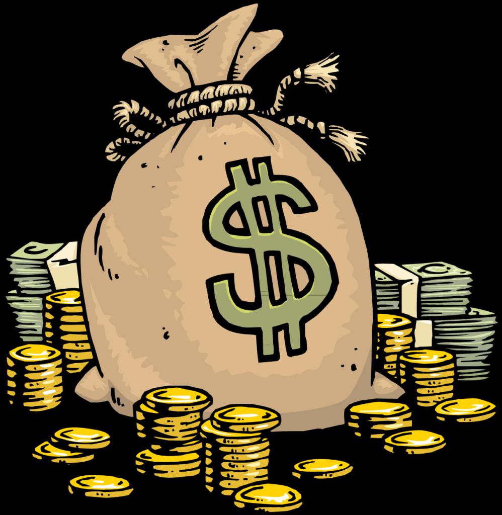 Download Money Cartoon Bag PNG Download Free Clipart PNG