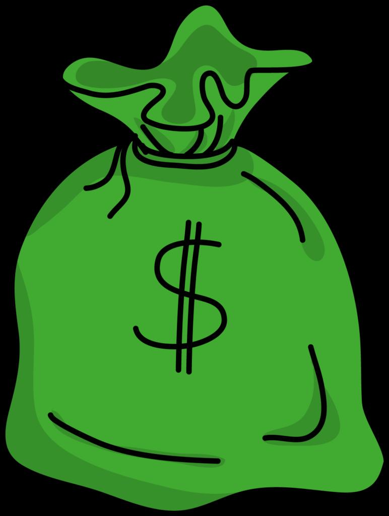 Money bag Animation Drawing Clip art  money bag png