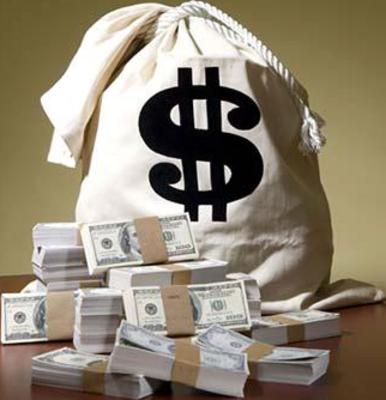 Transparent Money Bag  Money bag