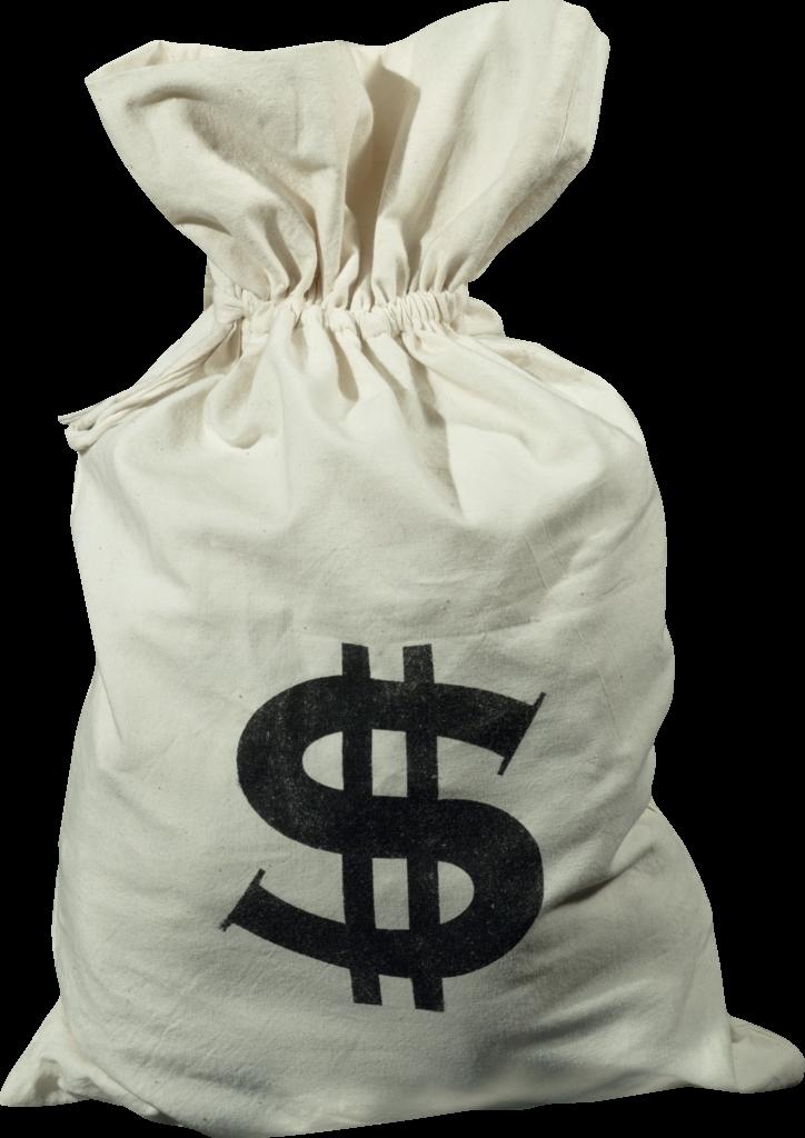 Money bag PNG image