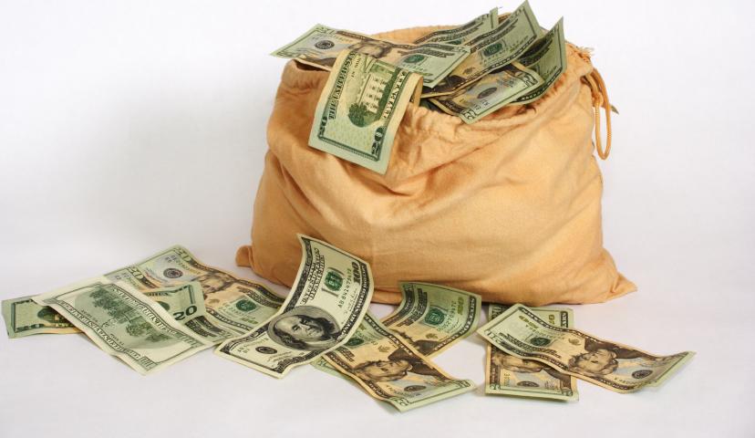 Money Bag PSD  Official PSDs