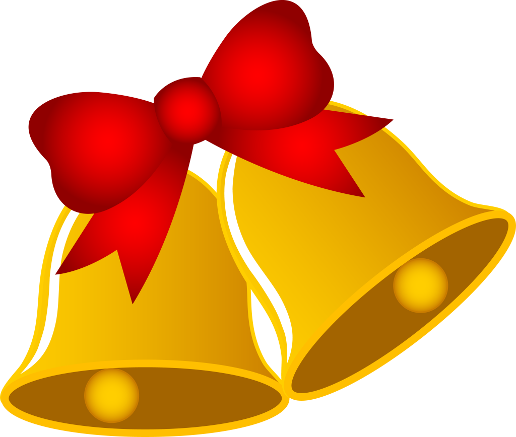 Free christmas bell clipart the cliparts  Clipartix