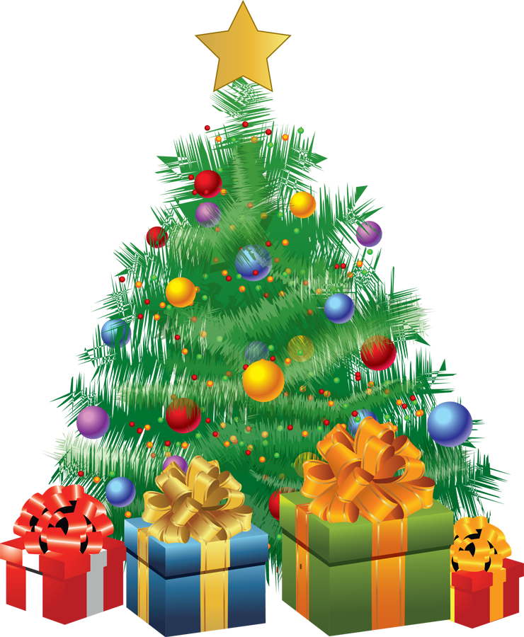 Christmas Tree Clip Art - Architecture World - Christmas Clipart
