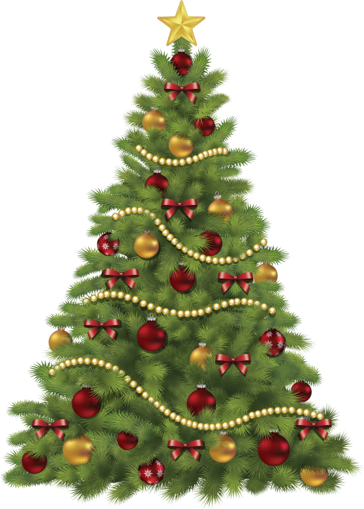 Christmas Tree Clipart PNG Image  PurePNG  Free