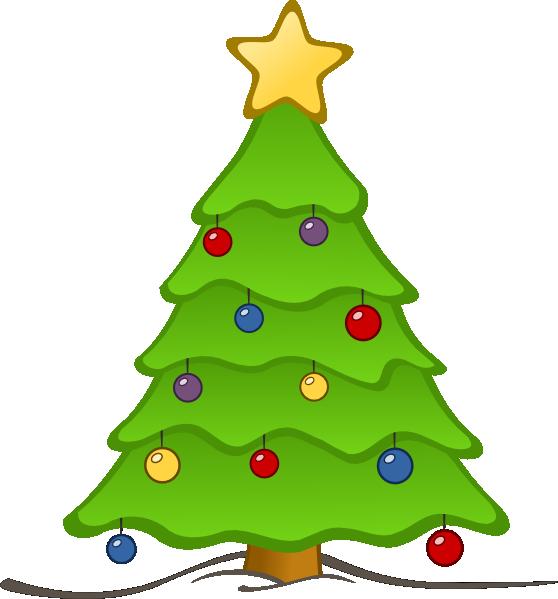 Christmas Tree Clipart  FrPic