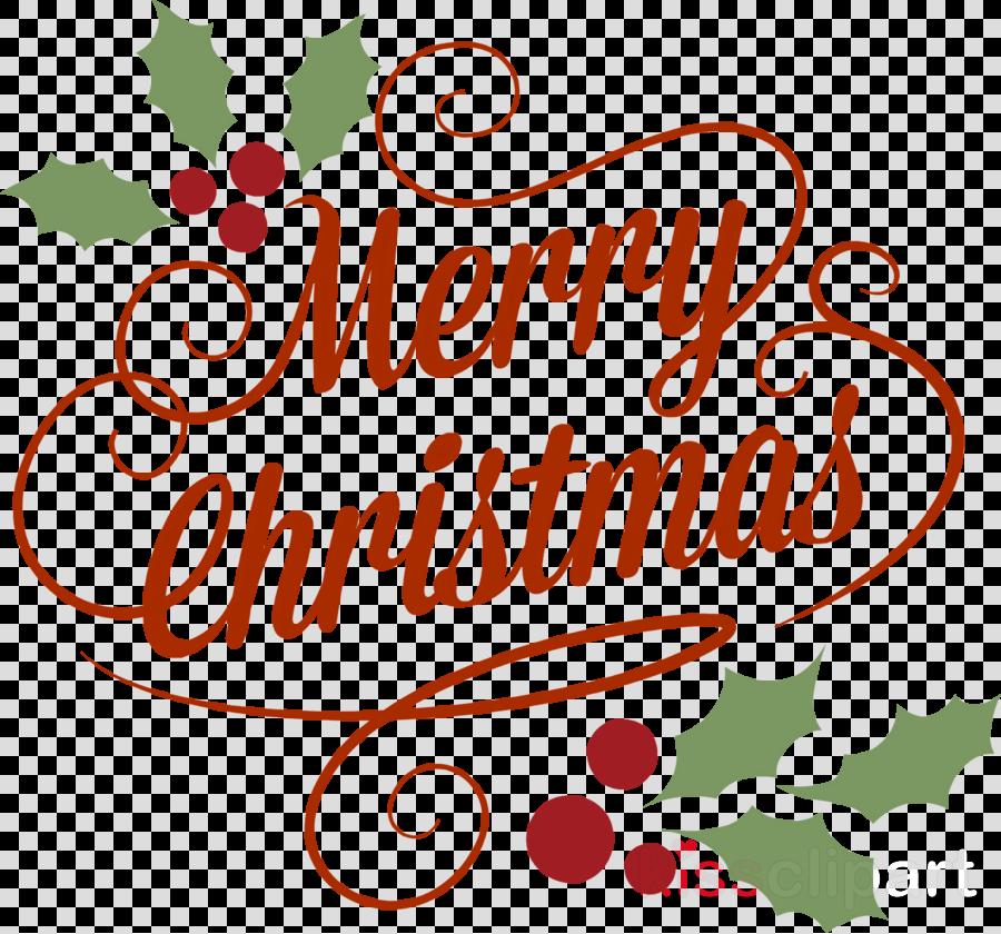 merry christmas xmas clipart  Text Christmas Eve Holly