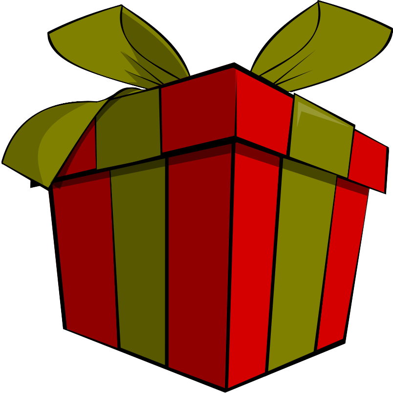 Free Present Clip Art Pictures  Clipartix