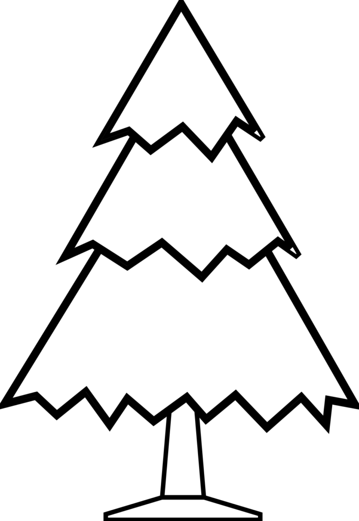Black  White Christmas Clip Art  Clipartsco