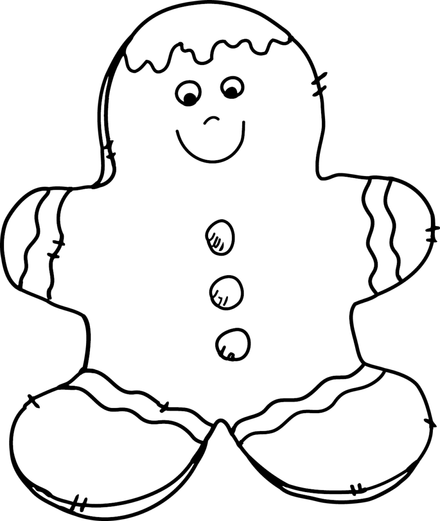 Granny Goes to School Holiday Cookie Clip Art