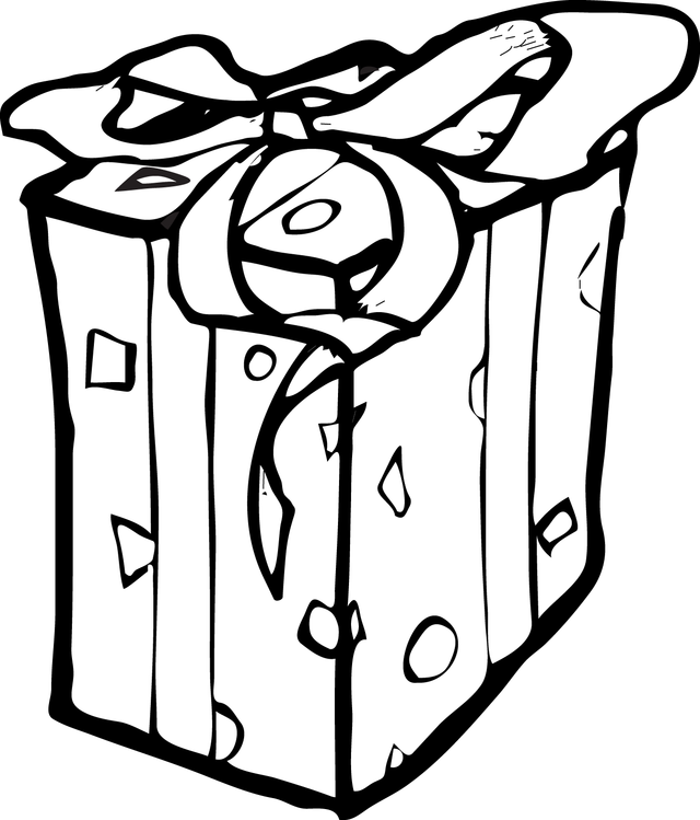 Gift Clipart Black And White  Free download on ClipArtMag