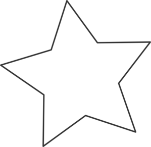Shooting Star Clipart Black And White  Clipart Panda