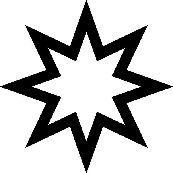 Star Outline Clip Art at Clkercom  vector clip art