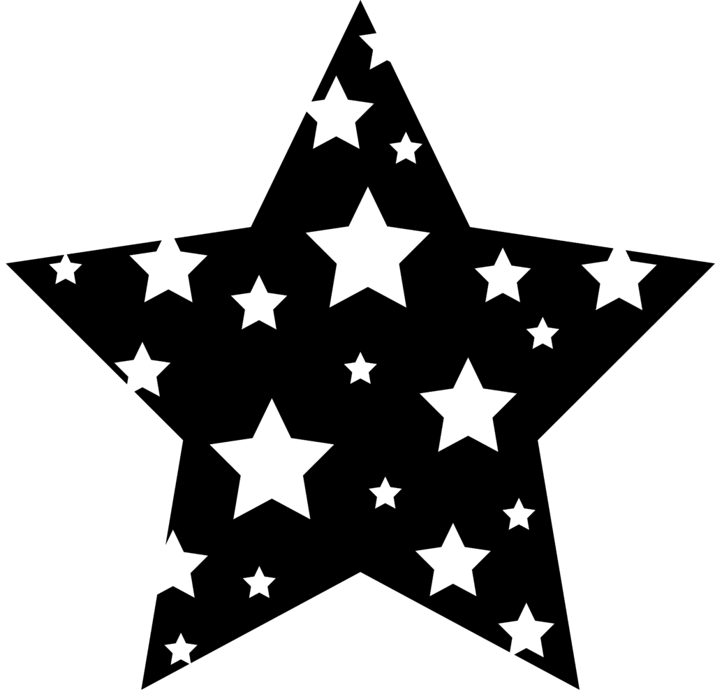 Star Clipart Black And White  Clipart Panda  Free