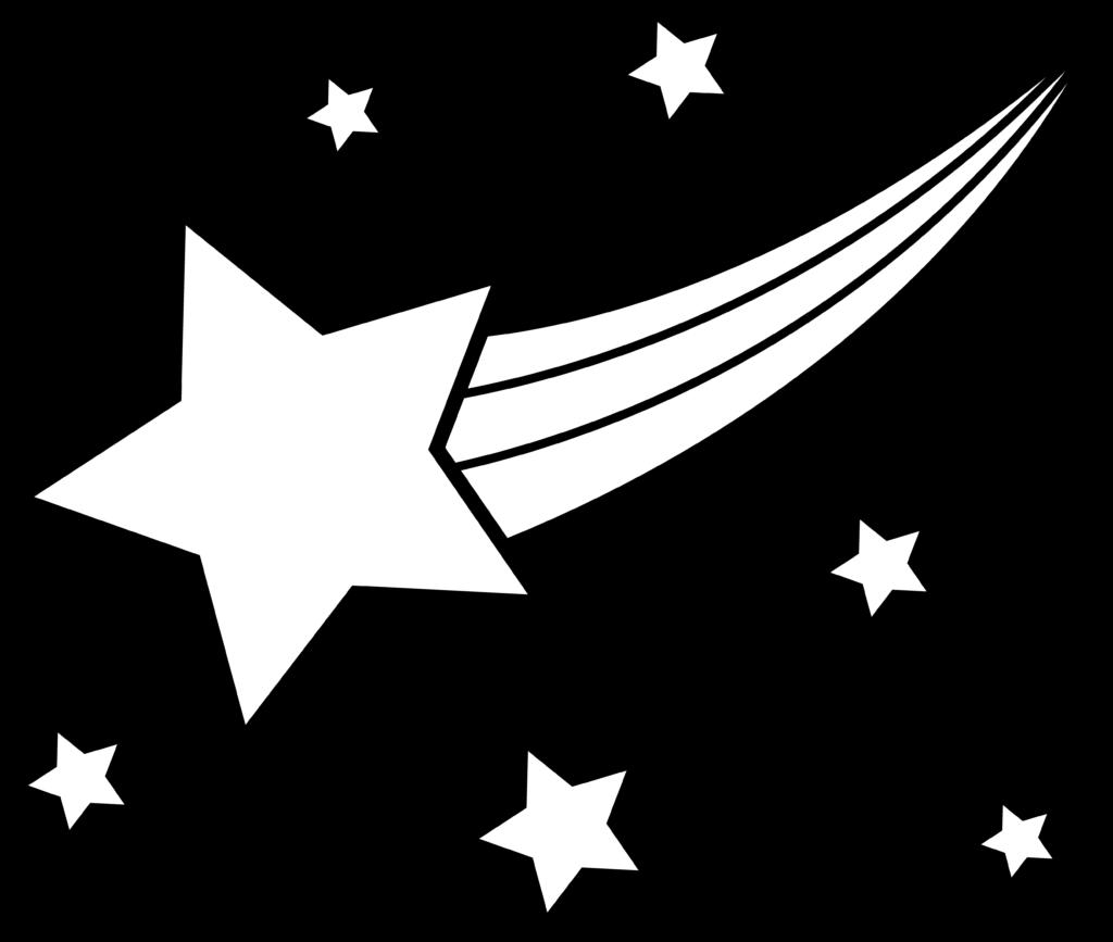 Best Shooting Star Clipart 13022  Clipartioncom
