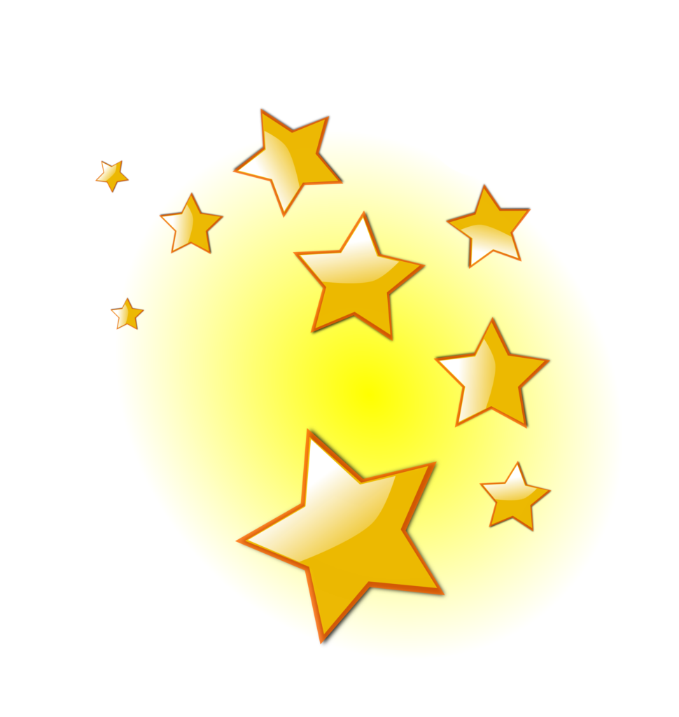 Library of shining star jpg royalty free png files Clipart