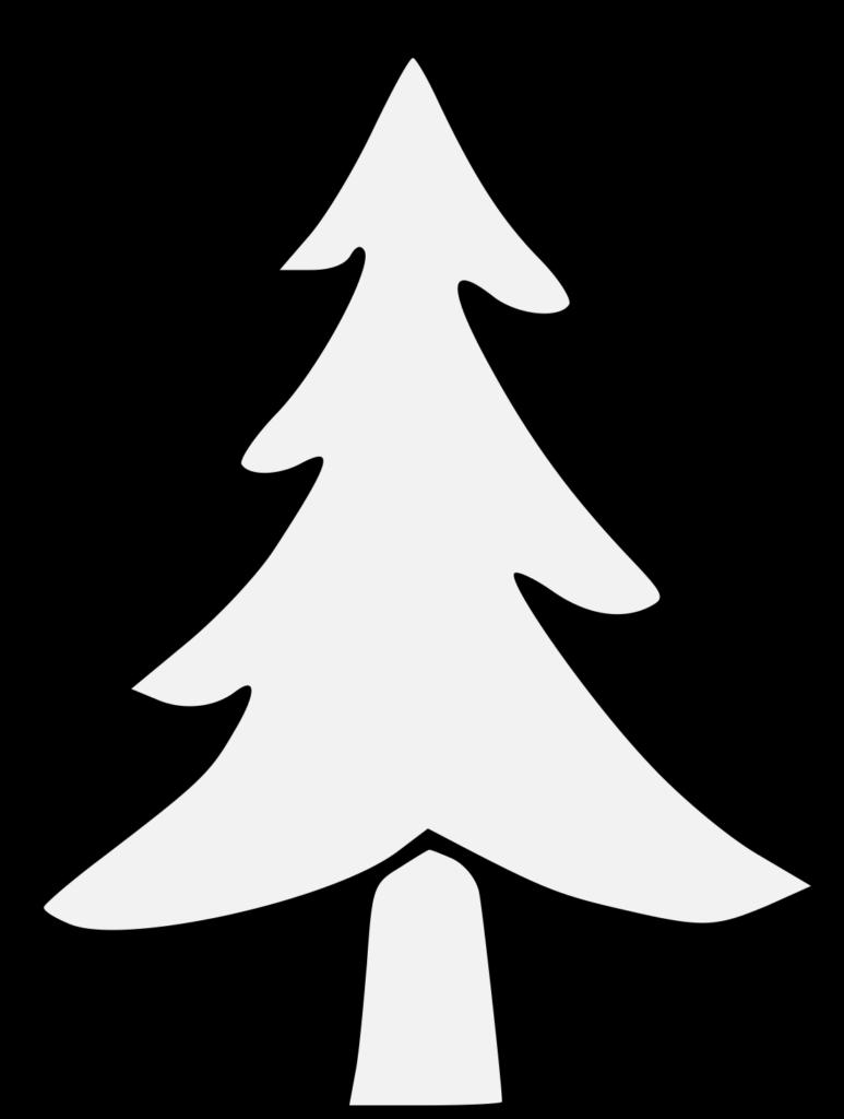 Pine  Traceable Heraldic Art