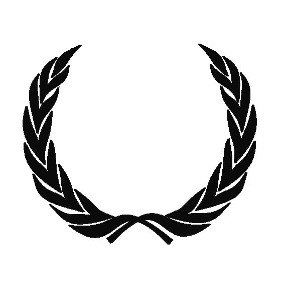 Wreath Black Clip Art at Clkercom  vector clip art