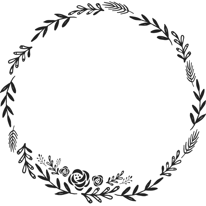 Library of wreath svg jpg royalty free png files Clipart