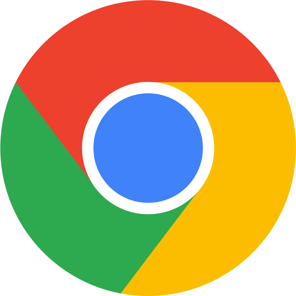 Chrome Vector  Vector Logo Google Chrome Clipart  Full