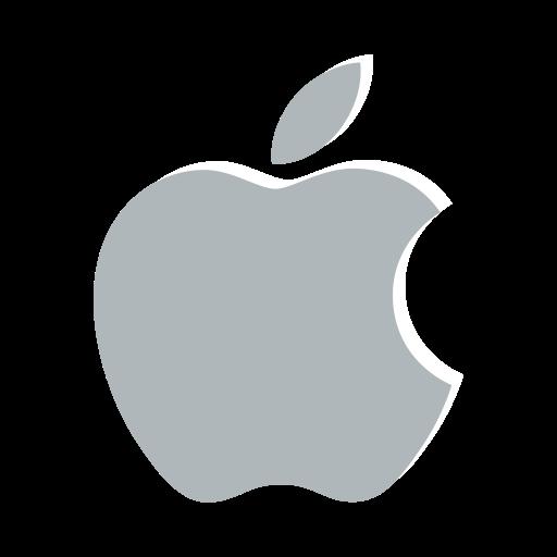 Apple classic company identity logo icon