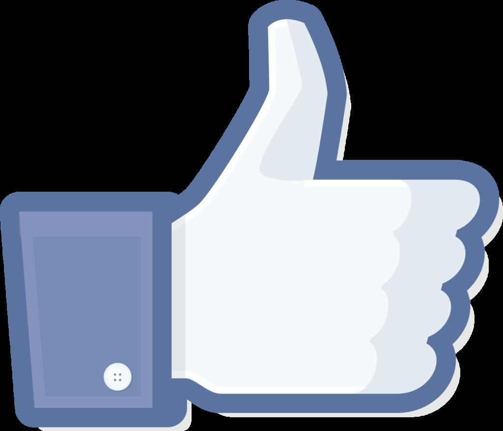 The worlds biggest Facebook button