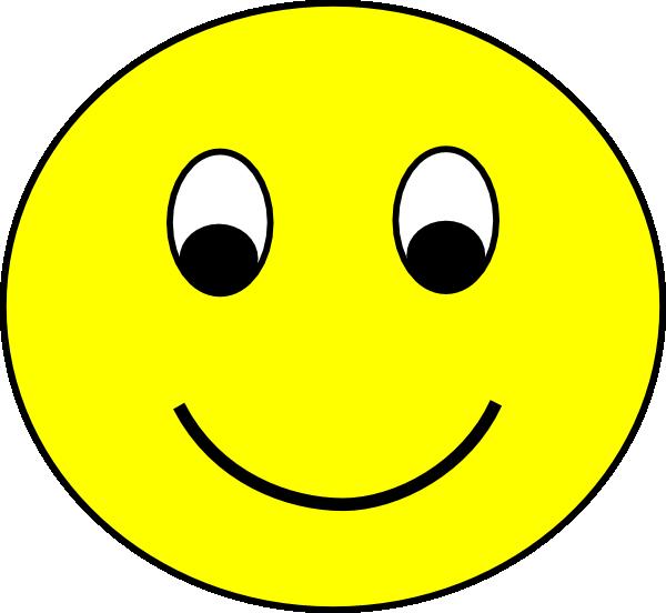 Happy Smiley Clip Art at Clkercom  vector clip art
