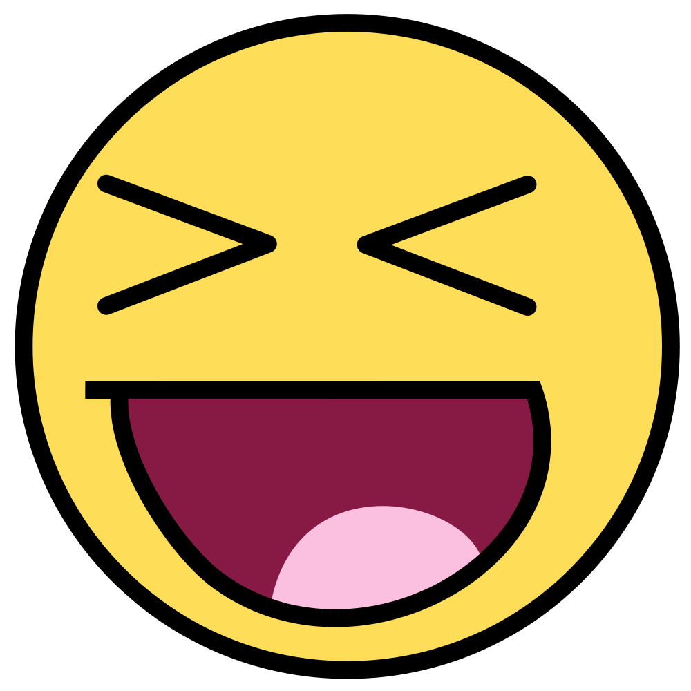 Emoticon Laughing Hysterically  Clipartsco