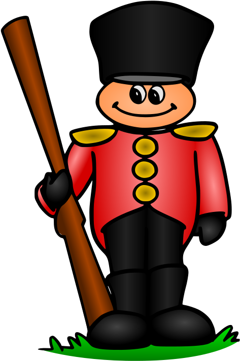 Soldiers Clipart Great Britain  Draw A British Soldier